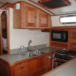 woodworking in galley