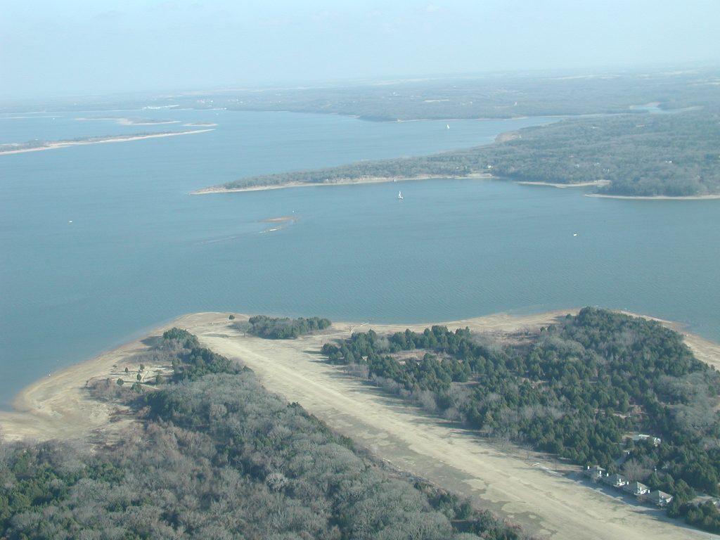 Airstrip Aerial View